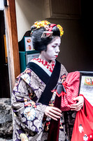 Geisha In Transit